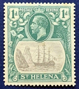 1922-ST-HELENA-STAMP-1D-80-MINT-HINGED
