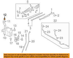image is loading subaru -oem-forester-wiper-washer-windshield-washer-reservoir-