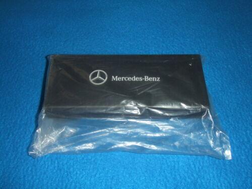 Mercedes Benz Original Keyring Case Nip Black New