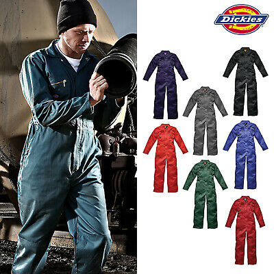 Klug Dickies Redhawk Zipped Work Coverall (wd4839) Boiler Overalls Multi-pockets Suit