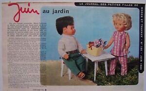 ▬►Page POUPÉE FRANÇOISE MICHEL  Modes et Travaux JUILLET 1978