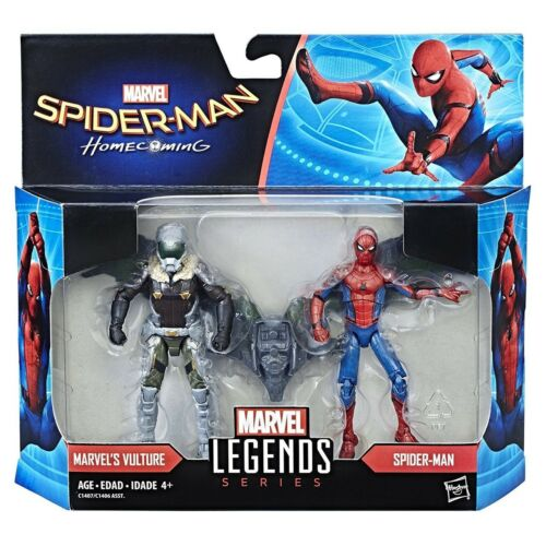 "Hasbro Homecoming Marvel Legends Vulture /& Spider-Man 3.75/"" Figure Pack New Fast"