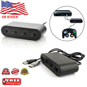 GameCube-Controller-Adapter-4port-for-nintendo-Switch-Wii-U-amp-PC-USB-NEW-TURBO