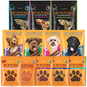 Pet-Munchies-100-Natural-Dog-Puppy-Food-Real-Meat-Treats-amp-Training-Chews