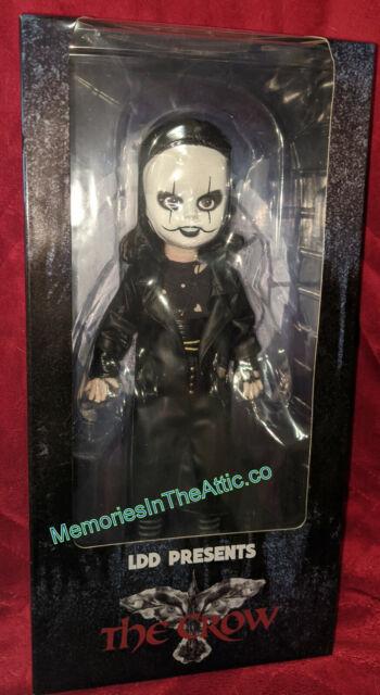 "Mezco Living Dead Dolls LDD Presents The Crow Movie Brandon Lee 10"" Doll 2020"