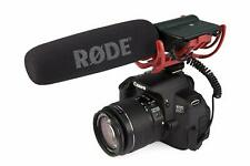 Rode VideoMic Camera shotgun Microphone Audio Video with Rycote Lyre Mount