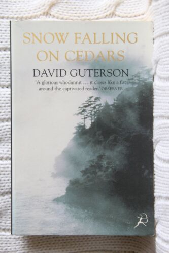 1 of 1 - Snow Falling on Cedars by David Guterson (Like new, Free postage with tracking )