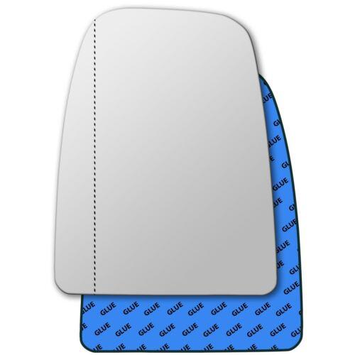 A sinistra asphärisch Lato Conducente Vetro Specchio per IVECO DAILY 2016-2019