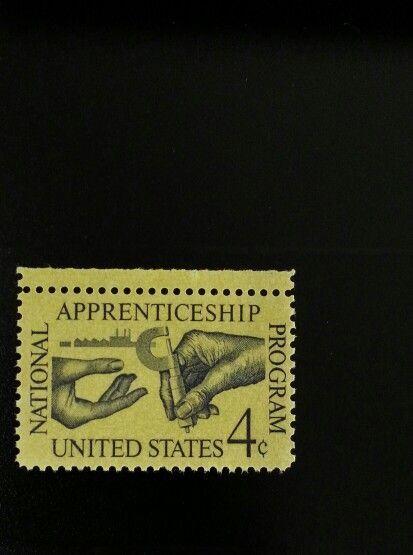 1962 4c National Apprenticeship Act, 25th Anniversary S