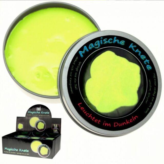leuchtet im Dunkeln Schleim Hüpfknete Magische Slime Inelligente Leucht Knete