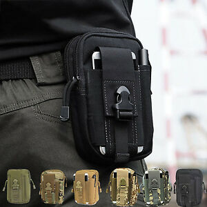 Tactical-Waist-Bag-Mobile-Phone-Fanny-Pack-Holster-Hip-Belt-Military-Molle-Pouch