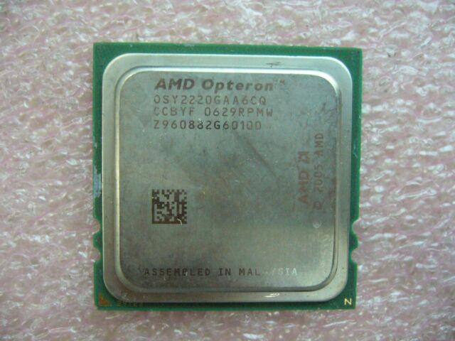 QTY 1x AMD Opteron 2220 SE 2.8 GHz Dual-Core (OSY2220GAA6CQ) CPU Socket F 1207