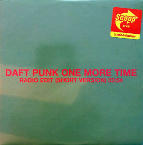 Daft-Punk-CD-Single-One-More-Time-Promo-EX-M