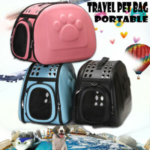 Portable-Pet-Dog-Cat-Travel-Carry-Carrier-Tote-Cage-Bag-Soft-Crate-Kennel-Box-AU