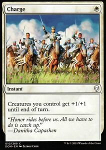 4x-Charge-NM-M-Dominaria-Magic-MTG