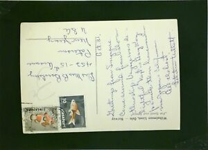 Singapore-1962-Postcard-to-USA-Corner-Bend-Z2033