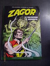 ZAGOR COLLEZIONE STORICA A COLORI n° 55-  LA MALEDIZIONE DI JAGANNATH