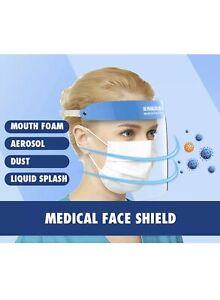2PCS-ISOLATION-PROTECTIVE-FACE-VISORS-GUARD-SHEILD