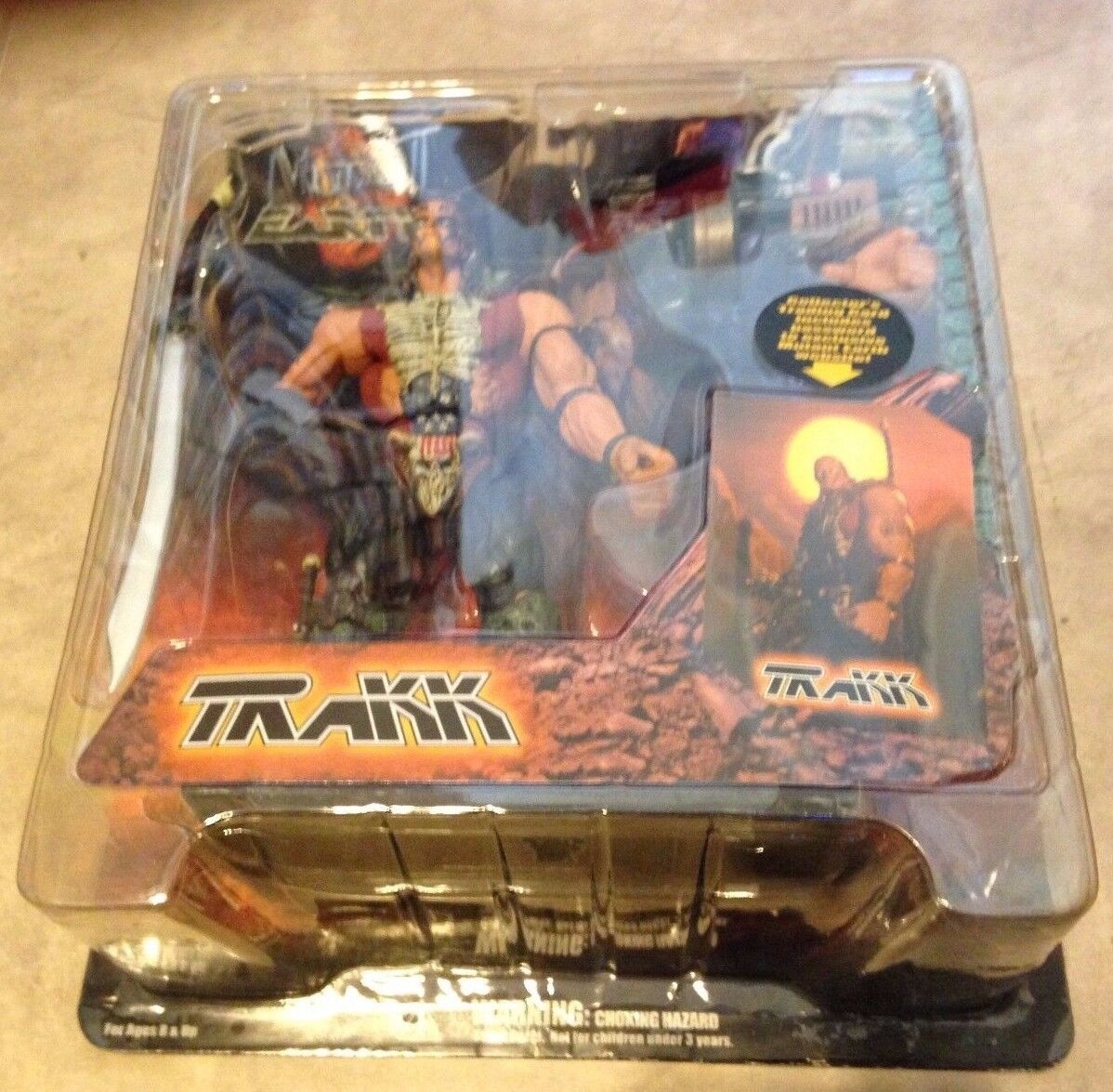 Mutant Earth Trakk Action Figure Stan Winston Creatures NEW factory sealed