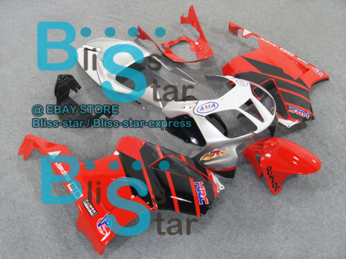 Red Glossy Fairing For Fit  VTR1000 RVT RC51 SP1 SP2 2000-2006 04 C3