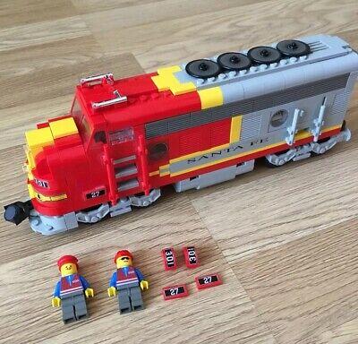 Custom Lego 10020 Santa Fe Super Chief Replacement Sticker /& Portholes Cut Vinyl