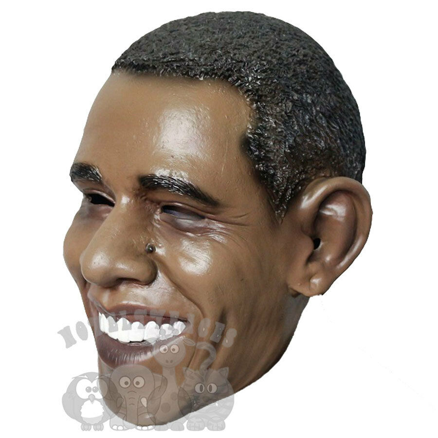 Famous Character American President Worldwide Icon Obama Latex Party Props Mask