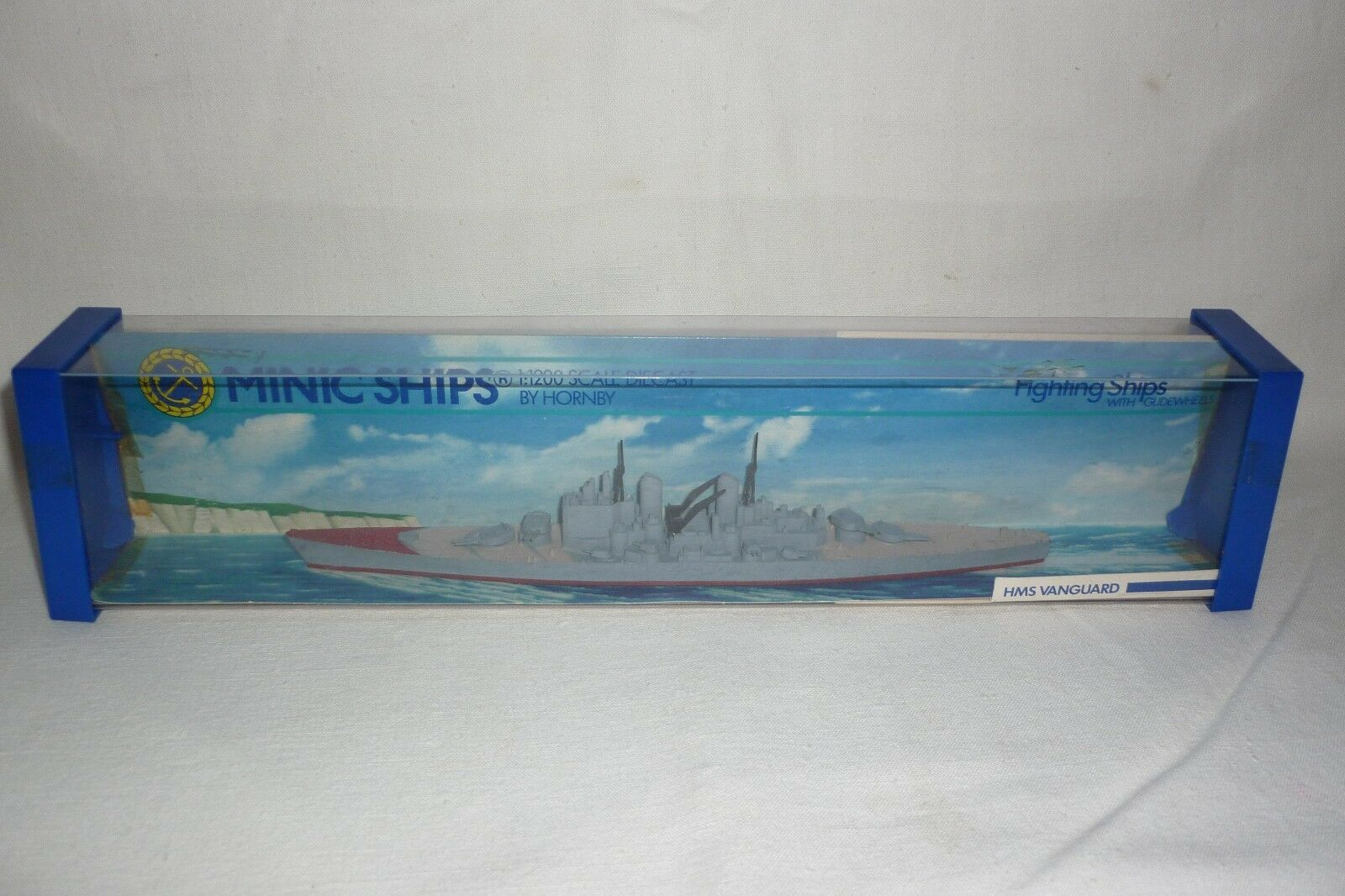 MINIC SHIPS - DIECAST BY HORNBY - HMS VANGUARD - - - 1 1200 - OVP - (1.BO-2)  | Neuankömmling  5e1c3d
