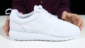 super popular 48abf 3dd14 Details about New Nike Roshe One White Mens size 8.5