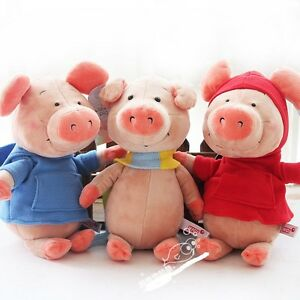 Nici wibbly pig plush toy hoo scarf piggy soft stuffed #0: s l300