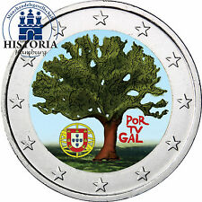 Portugal 2 Euro Gedenkmünze 2007 bfr. EU Ratspräsidentschaft in Farbe