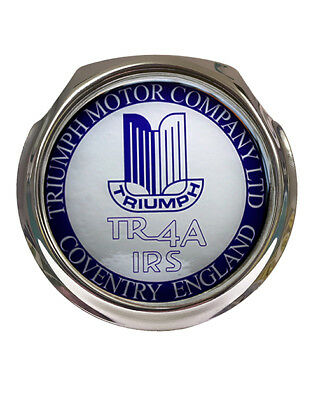 Car Grille Badge Triumph TR4A IRS Logo FREE FIXINGS