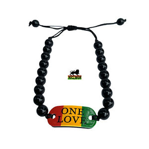 Uno-Amor-Muneca-Etiqueta-Emblema-Pulsera-Dulce-Jamaica-Bob-Reggae-L-Cuenta-5MM