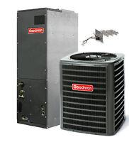 4 Ton 16 Seer(15.5) Goodman 2 Stage Heat Pump System Dszc160481+avptc426014 on sale