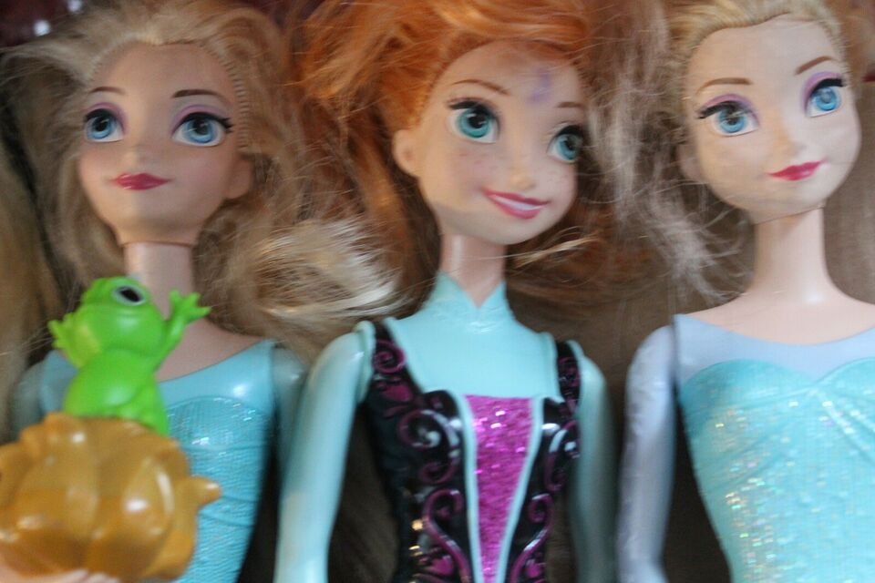 Barbie, Disney dukker
