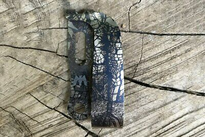 Mummert Knives Slotted Ti Tumbled Clip