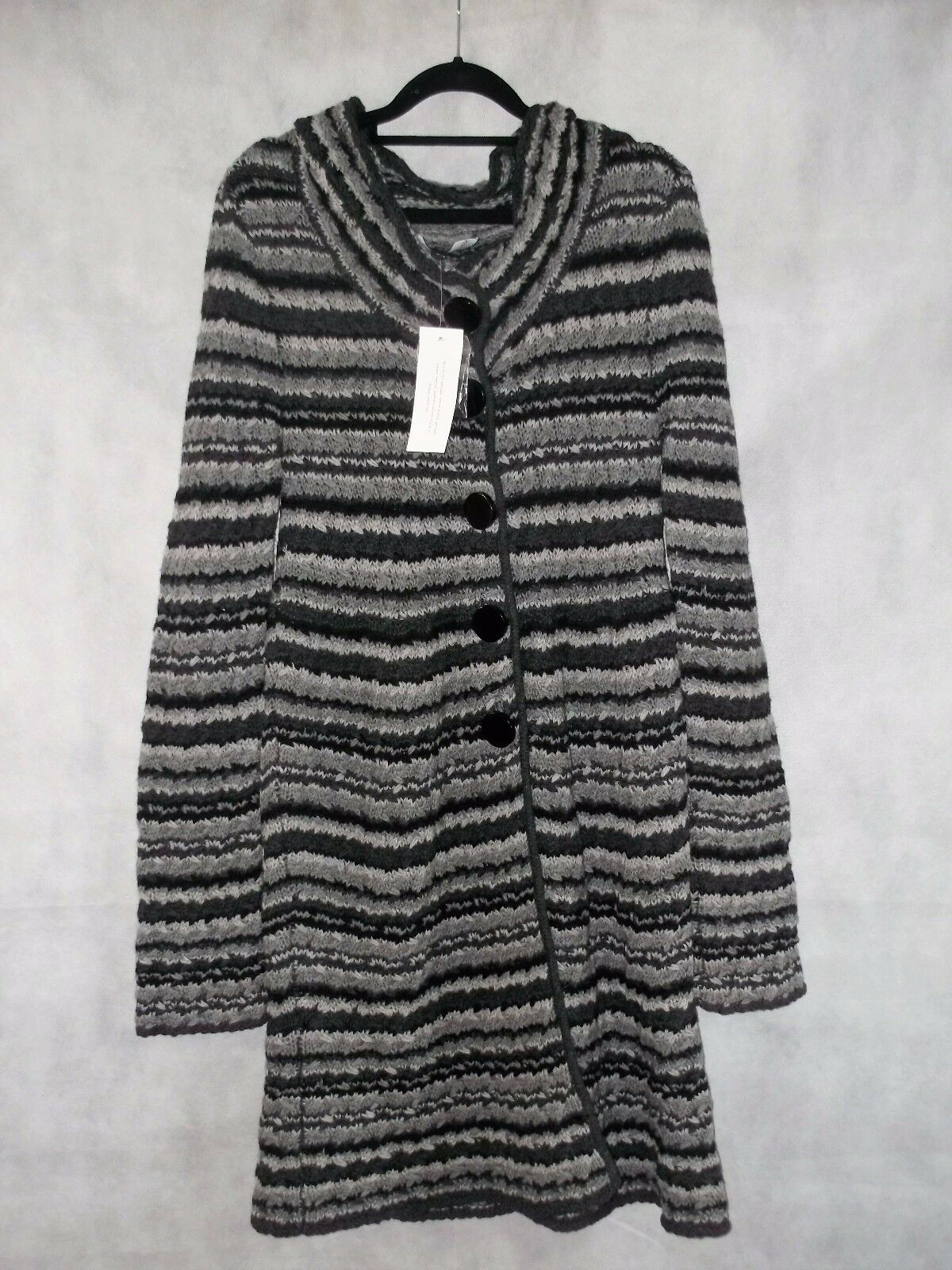 NEW WITH TAGS coat cardigan coatigan FRENCH CONNECTION wool s