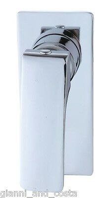 BATHROOM SHOWER OR BATH WALL MOUNTED MIXER TAP SQUARE ROUND DESIGN MODEL ANCONA