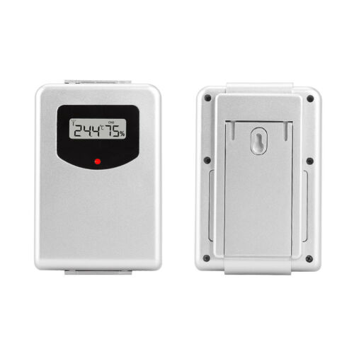 433MHz Wireless Weather Station With Forecast Temperature Digital Thermometer M&