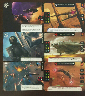 Agile Gunner Star Wars X-Wing 2.0 Alt Art Promo Card