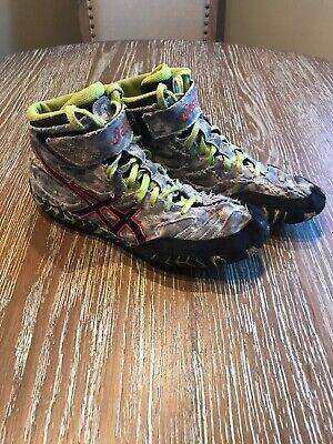 Asics Aggressor 2 Camo Wrestling Shoes
