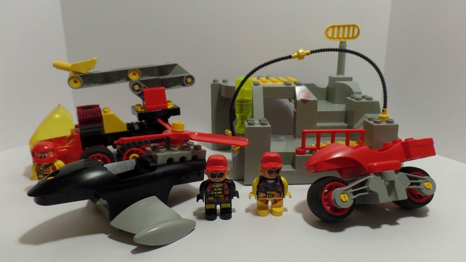 Lego  Duplo Toolo Action Wheelers 2914 Rescue Base  livraison gratuite!