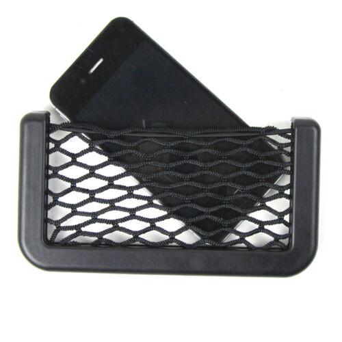 Car Auto Interior Body Edge Elastic Net Storage Phone Holder Accessories Useful
