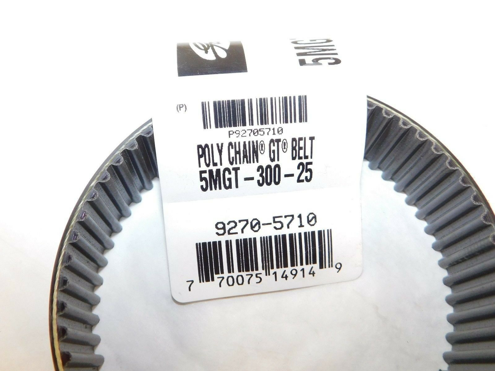 Gates Poly Chain Synchronous Belt 9270-5710 5MGT-300-25