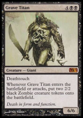 TITANO SEPOLCRALE GRAVE TITAN Magic M12 Mint