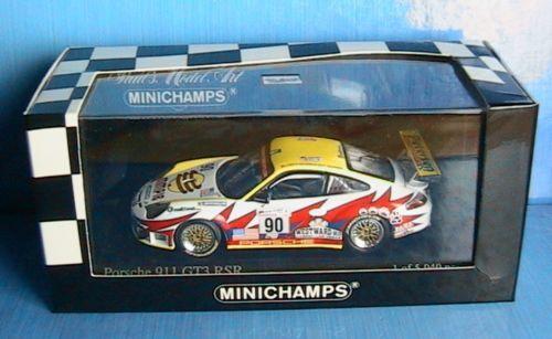 Porsche 911 gt3 rsr winner le mans 2004 minichamps 1 43 maassen bergmeister