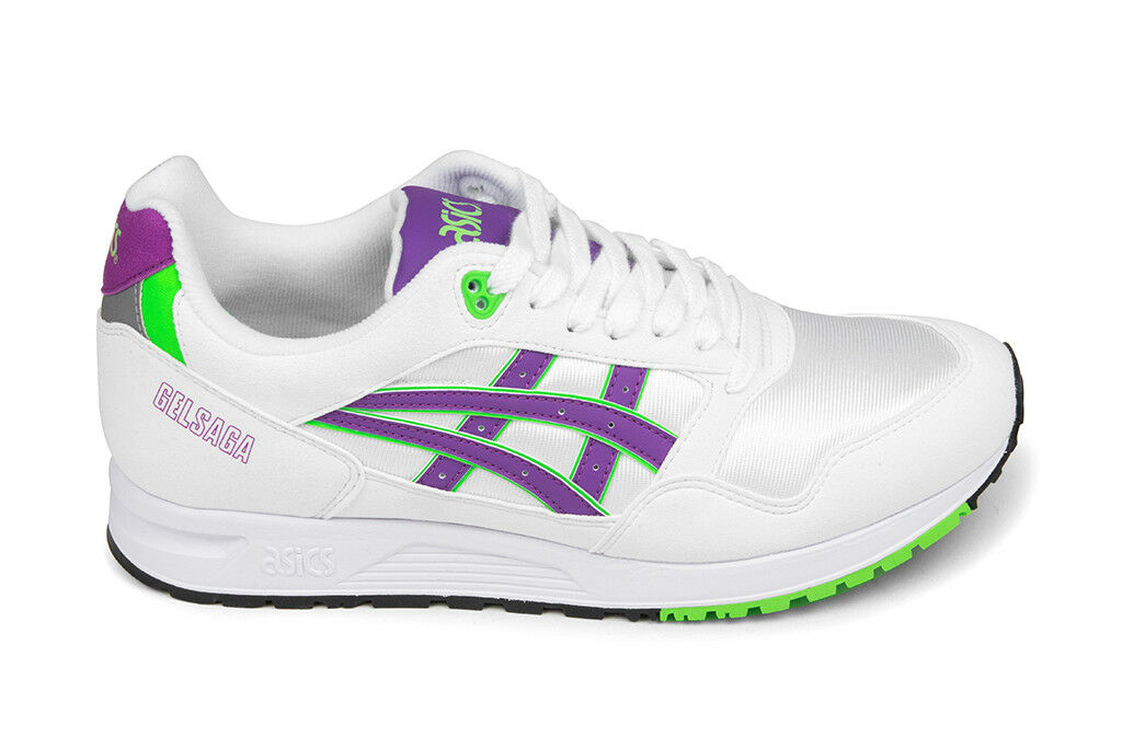 Asics Gel-Saga - White/Orchid 1193A071-100 Brand New In Box Free Shipping