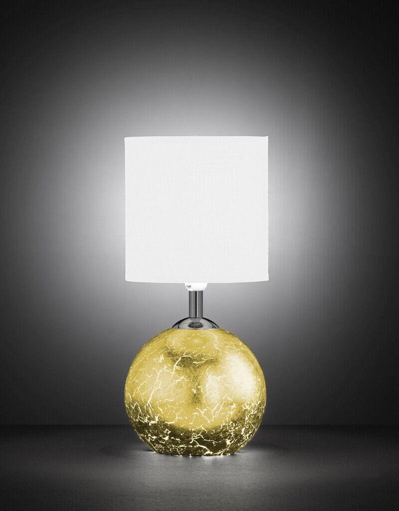 Durchscheinende Tischleuchte Gestell beleuchtet in Gold Tisch Beistell Lampe  | Ausgezeichneter Wert