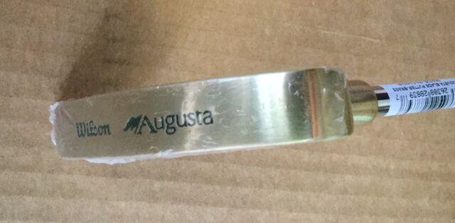 "*BRAND NEW* Wilson Golf Augusta Brass Blade 35"" Putter - steel - Right/Left hand"
