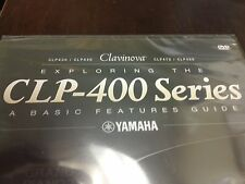 Yamaha Clavinova CLP 400 Series Learning DVD Step by Step Instruction Video Tool