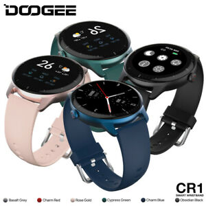 DOOGEE CR1 Smartwatch Pulsmesser Schlafmonitor Bluetooth Sportuhr Android iOS